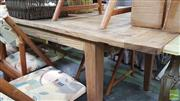 Sale 8390 - Lot 1156 - Recycled Elm Dining Table (L 220cm)