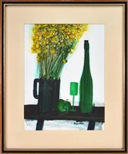Sale 8363 - Lot 539 - Stanislaus (Stan) Rapotec (1913 - 1997) - Still Life 63 x 47.5cm