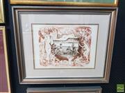 Sale 8552 - Lot 2008 - Birgitte Hansen (1951 - ) - Newcastle Daydreams II, 1981 32.5 x 41.5cm