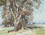 Sale 8755 - Lot 502 - Rhys Williams (1894 - 1976) - An Australian Gum 34 x 44cm