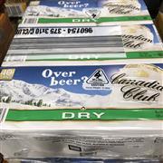 Sale 8801W - Lot 59 - 30x Canadian Club & Dry Cans 4.8%, 375ml