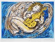 Sale 8892 - Lot 567 - David Boyd (1924 - 2011) - Viola Angelica (Musical Dreaming) 42.5 x 58 cm