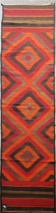 Sale 8669 - Lot 1092 - Persian Kilim Runner (384 x 61cm)