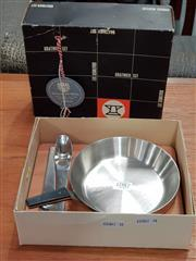 Sale 8801 - Lot 1087 - Carl Auboch Gratinier Set in Original Box