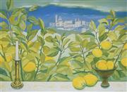 Sale 8838A - Lot 5193 - Ursula Laverty (1930 - ) - Marias Lemons; Et In Aracdia Ego, 1989 59.5 x 82.5cm