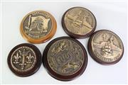 Sale 8913C - Lot 67 - Collection of French Bronze Cannon Covers