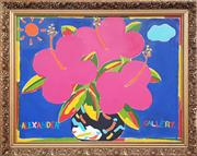 Sale 8961 - Lot 2084 - Blooms, Oil, SLR, Alexander Gallery, 54x70cm