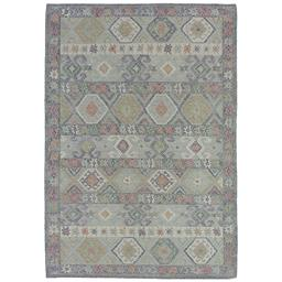 Sale 9090C - Lot 14 - Indian Nomadic Design Kilim, 160x230cm, Handspun Wool
