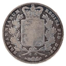 Sale 9130E - Lot 76 - A Victorian British silver crown dated 1844, weight 27.17g, slightly worn