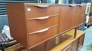 Sale 8395 - Lot 1043 - Good Quality McIntosh Teak Sideboard