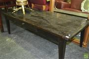 Sale 8390 - Lot 1527 - Timber Coffee table with 2 Drawers
