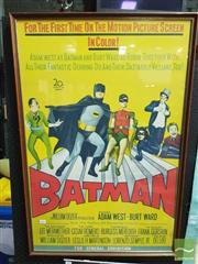 Sale 8421 - Lot 1065 - Vintage Batman Poster (67cm x 100cm)