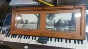Sale 8433 - Lot 2034 - Carriage Framed Photos Yarramalong Valley & Broken Hill War Memorial Park