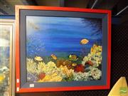 Sale 8483 - Lot 2036 - Artist Unknown - Untitled (Coral Paradise) 45 x 53.5cm