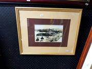 Sale 8678 - Lot 2063 - Spitfire Print, Framed Damaged