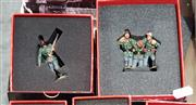 Sale 8817C - Lot 582 - K&C Wehrmacht Figural Groups (2); Out of Danger & Happy