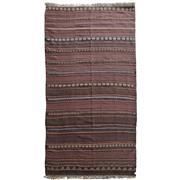 Sale 8870C - Lot 24 - Afghan Vintage Beluch Kelim Rug, in Handspun Wool 280x110cm