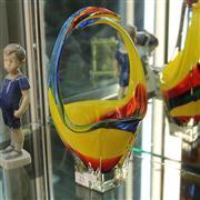 Sale 8379 - Lot 23 - Art Glass Basket