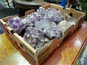 Sale 8462 - Lot 1032 - 8ox of Amethyst w Inclusions