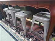 Sale 8648C - Lot 1090 - Set of Four Tolix Style Stools