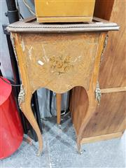 Sale 8724 - Lot 1088 - Inlayed Plant Stand