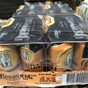 Sale 8801W - Lot 61 - 24x Bundaberg OP Rum & Cola Cans 6.0%, 375ml