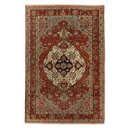 Sale 8870C - Lot 25 - Antique Persian Fine Malayer Rug, Circa 1940, Handspun Wool 222x147cm