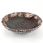 Sale 8995H - Lot 81 - A Royal Doulton Archives bowl marked Burslem Artwares Wenzhou bowl in Chang 65/250, height 10cm x diameter 36cm