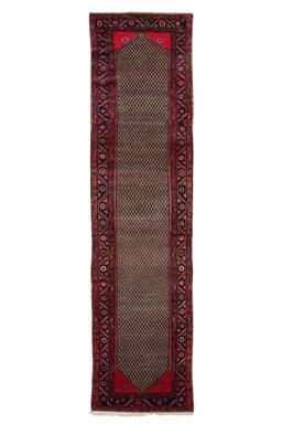 Sale 9090C - Lot 16 - Persian Nomadic Kolyai, 100x390cm, Handspun Wool