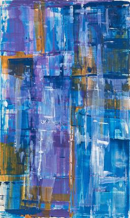 Sale 9212A - Lot 5040 - BELLA KAYE Hayman Island acrylic on canvas 152 x 92 cm inscribed and titled verso