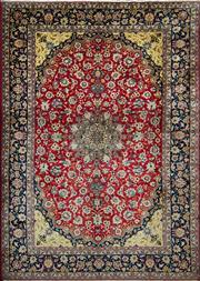 Sale 8338C - Lot 4 - Persian Mashad 440cm x 310cm