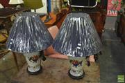 Sale 8341 - Lot 1079 - Pair of French Hand Made Table Lamps (4013)