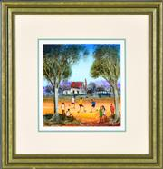 Sale 8394 - Lot 542 - Kevin Charles (Pro) Hart (1928 - 2006) - Hes Cute 20 x 20cm