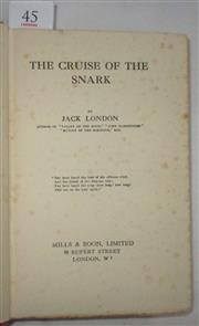 Sale 8431B - Lot 45 - Jack London's The Cruise of the Snark. Twelfth edition, August 1926. Mills & Boon. Chapter 6 from pages 82-96 covers A Royal Sport o...