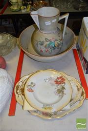 Sale 8518 - Lot 2345 - Ceramic Wash Jug and Bowl Together with Other Ceramics inc Doulton Dishes