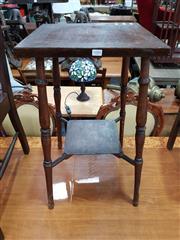 Sale 8717 - Lot 1084 - 428100 Oak Side table