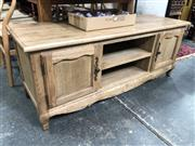 Sale 8769 - Lot 1070 - Entertainment Unit with Cabriole Legs