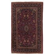 Sale 8870C - Lot 26 - Antique Persian Fine Kashan Rug, Circa 1930 in Handspun Wool, 207x127cm