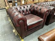 Sale 8896 - Lot 1026 - Pair Of Chesterfield Armchairs