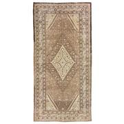 Sale 8913H - Lot 14 - Turkestan Vintage Khotan Carpet, 346x167cm, Handspun Wool