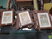 Sale 8428 - Lot 1024 - Set of Stations of the Cross