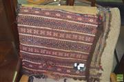 Sale 8352 - Lot 1023 - Woven Tribal Bag & Another