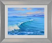 Sale 8408 - Lot 522 - Robyn Collier (1949 - ) - Incoming Swell 40 x 30cm