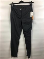 Sale 8514H - Lot 91 - Lebek Charcoal Stretch Cotton Pants - UK size 10