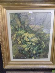 Sale 8557 - Lot 2057 - Ward Wildflowers Framed Artwork