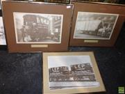 Sale 8619 - Lot 2090 - 3 Framed Vintage Photographs of London