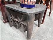 Sale 8724 - Lot 1047 - Tribal Occasional Table