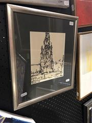 Sale 8841 - Lot 2012 - Desiderius Orban (1884 - 1986) - Brussels 1964 21 x 17cm