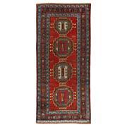 Sale 8913H - Lot 15 - Antique Caucasian Karabagh Rug, 280x125cm, Handspun Wool