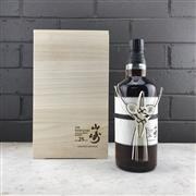 Sale 9062W - Lot 610 - The Yamazaki Distillery 25YO Single Malt Japanese Whisky - 43% ABV, limited edition 700ml bottle in timber presetation box with slip...